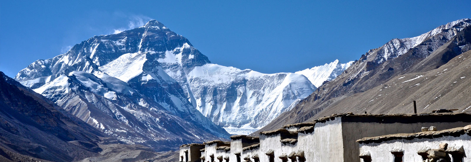 Mt Everest View from Base Camp